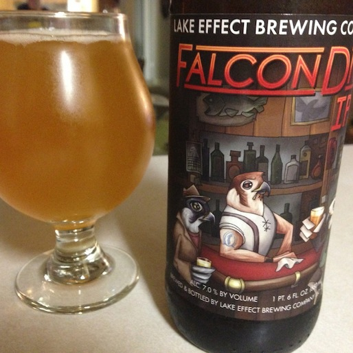 Lake Effect Brewing Falcon Dive IPA review