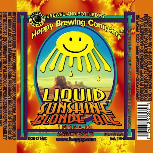 Hoppy Brewing Liquid Sunshine Review