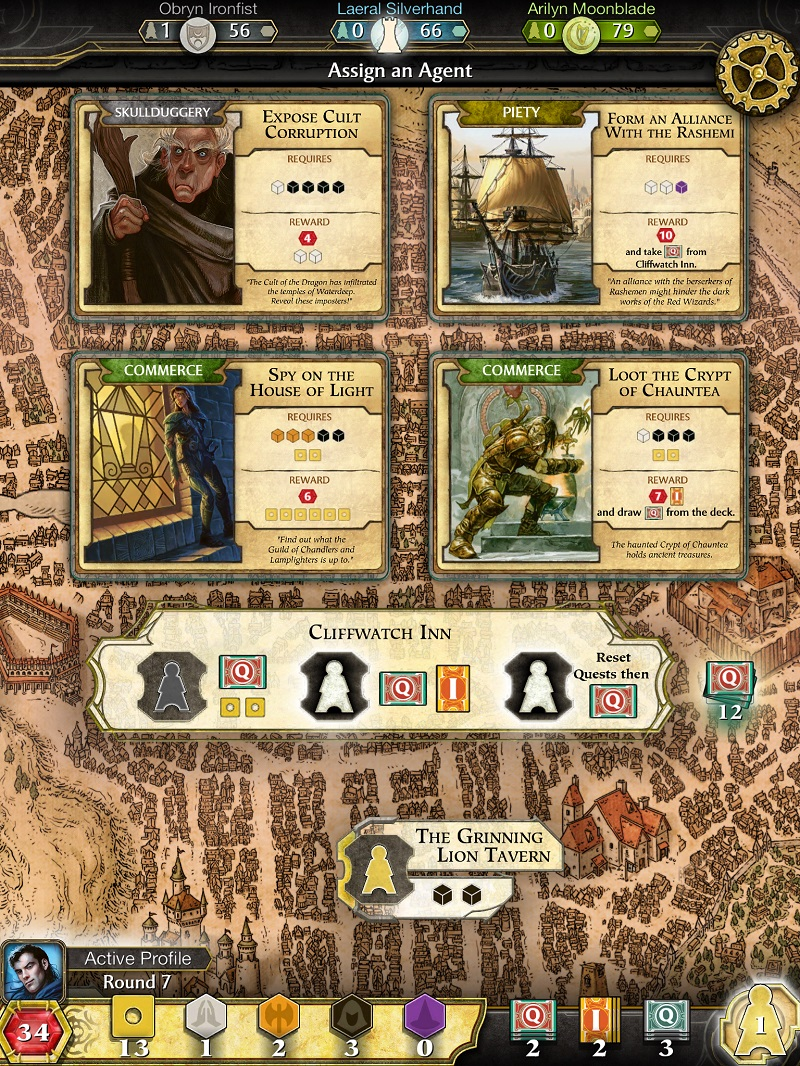 Lords of Waterdeep 2017 pc game Img-2