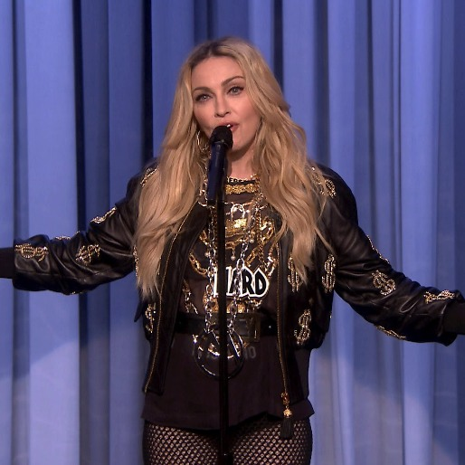 Madonna Did Stand-Up On <em>The Tonight Show</em> Last Night