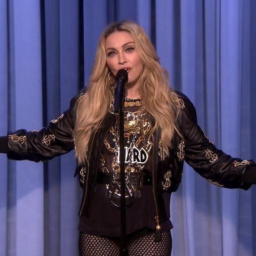 Madonna Did Stand-Up On <em>The Tonight Show</em> Last Night