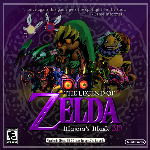 Nintendo Releases Gameplay Videos from <i>Majora's Mask 3D</i>