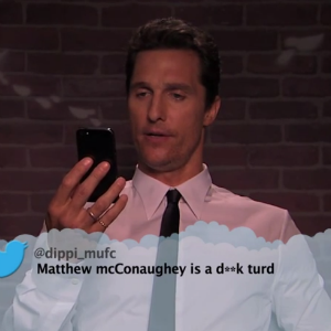 Watch Matthew McConaughey, Emma Stone and Others Read Mean Tweets About Themselves