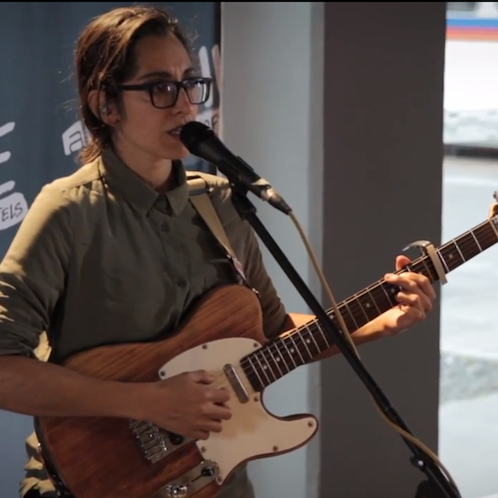 Video Premiere: Live at Aloft Hotels - Michelle Chamuel