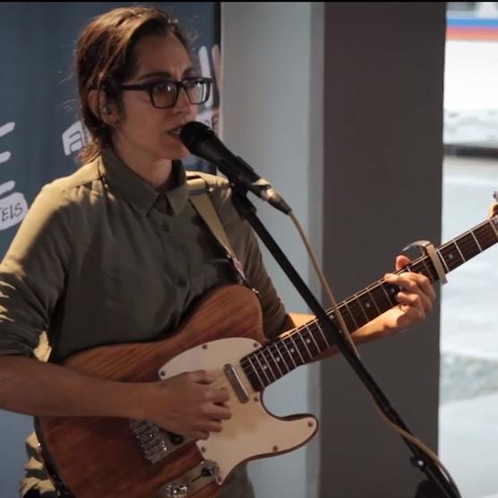 Video Premiere: Live at Aloft Hotels - Michelle Chamuel
