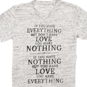 Mumford and Sons' Ben Lovett Designs Shirt for Invisible Children
