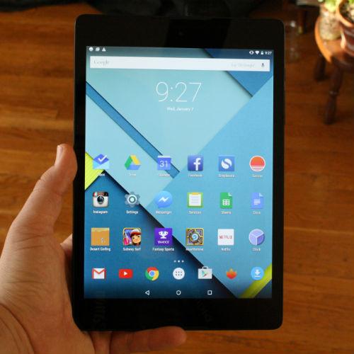 Google Taps HTC for Nexus 9 Tablet