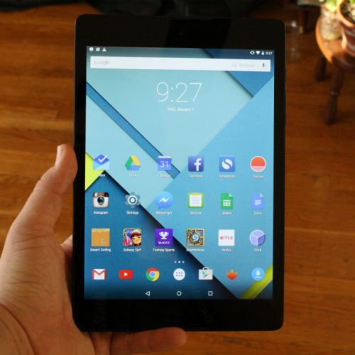 Google Taps HTC for Nexus 9 Tablet
