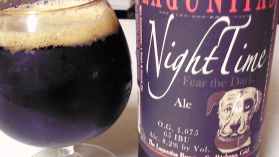 Lagunitas NightTime Black IPA review