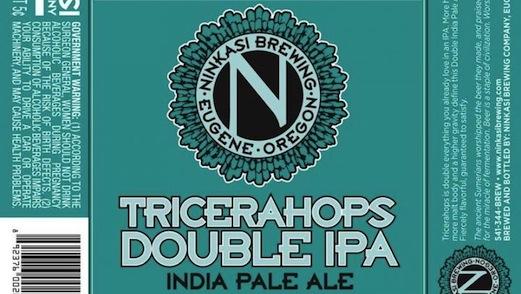 Ninkasi Tricerahops Double IPA