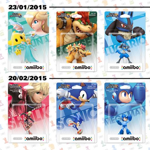 Ranking the Third Wave of Nintendo Amiibos