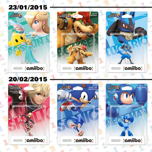 Ranking the Third Wave of Nintendo Amiibos