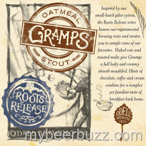 Odell Gramps Oatmeal Stout Review