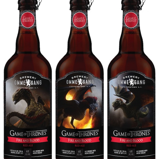 Ommegang Fire and Blood Red Ale Review