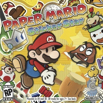 <em>Paper Mario: Sticker Star</em> Review (3DS)