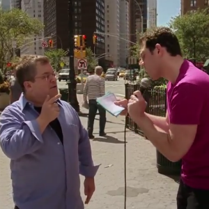 """Billy Eichner Challenges Patton Oswalt to """"Does Shakira Know What This Is?"""""""