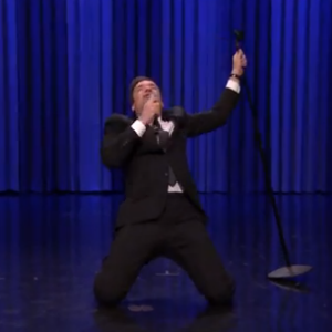 Watch Jimmy Fallon and Paul Rudd Face Off in an Epic Lip Sync Battle