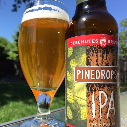Deschutes Brewery Pinedrops IPA Review