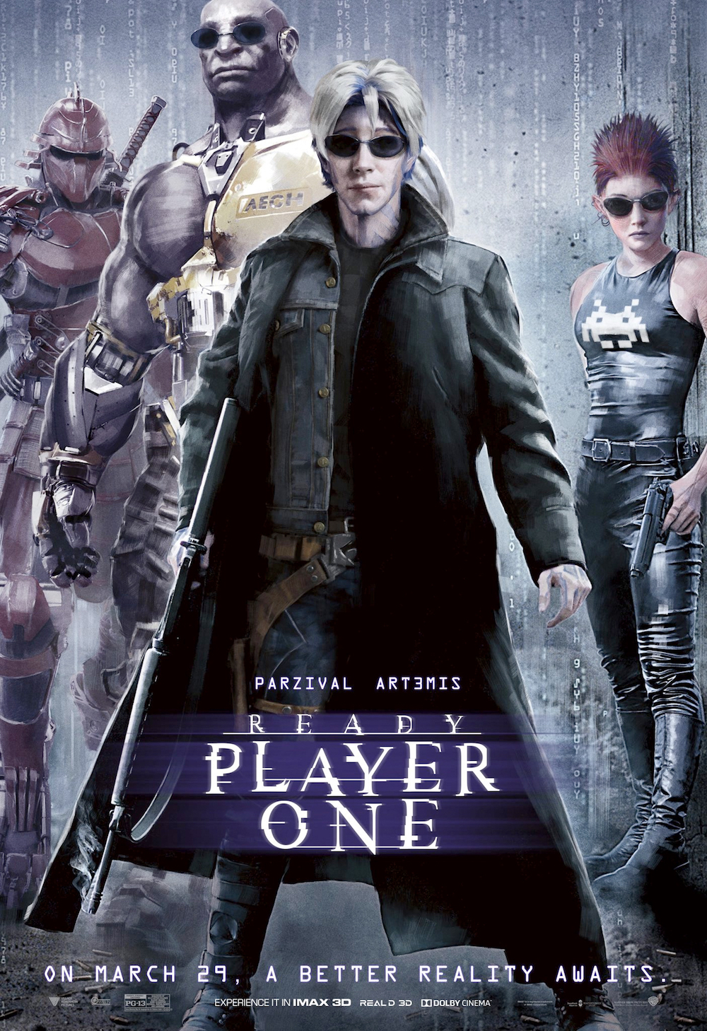 Ready Player One's New Posters Are Being Roundly Mocked and