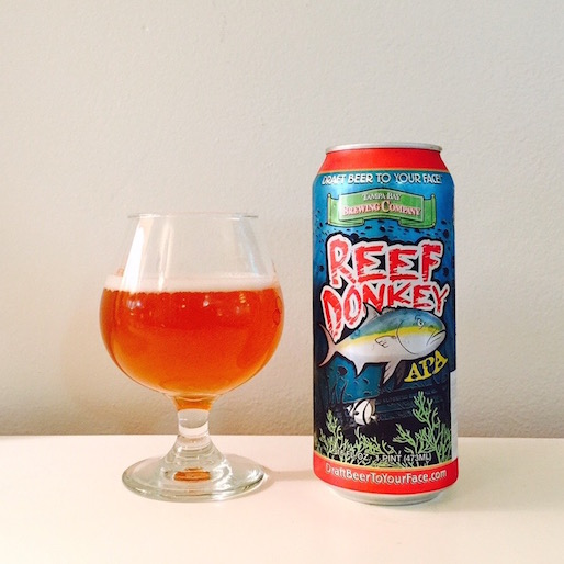 Tampa Bay Brewing Reef Donkey Review