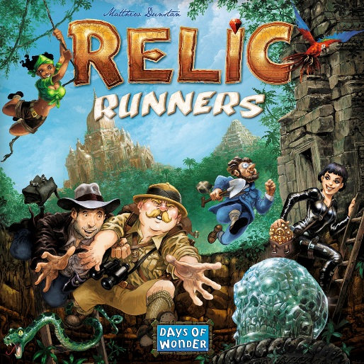 Boardgame Review: <em>Relic Runners</em>