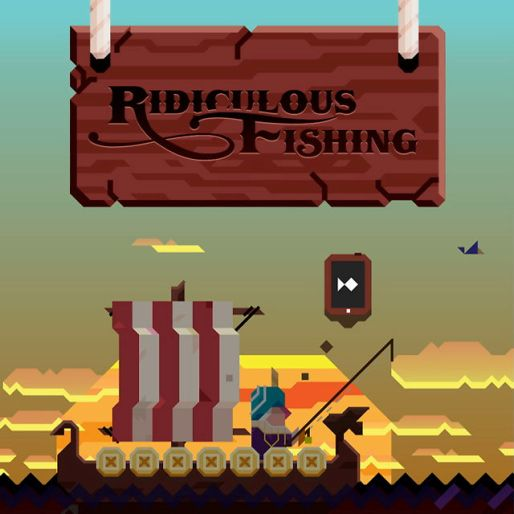 <em>Ridiculous Fishing</em> Review (iOS)