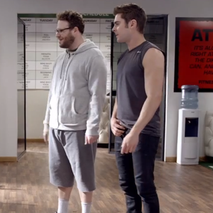 Seth Rogen Meets QB Aaron Rodgers, Embarrasses Zac Efron in <i>Neighbors</i> Promo