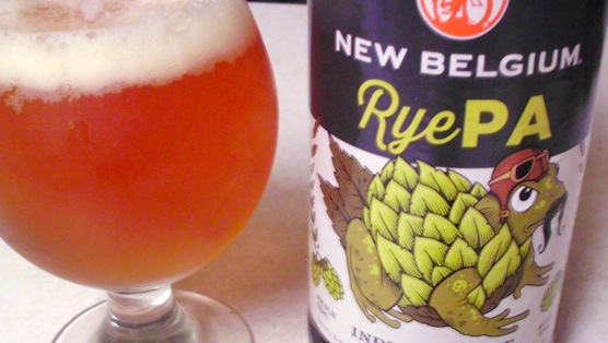 New Belgium RyePA Review