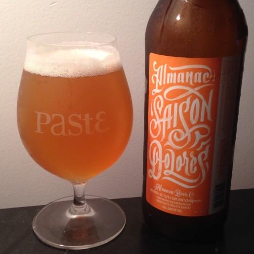 Almanac Beer Co. Saison Dolores Review