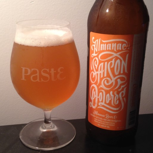 Almanac Beer Co. Saison Dolores Review