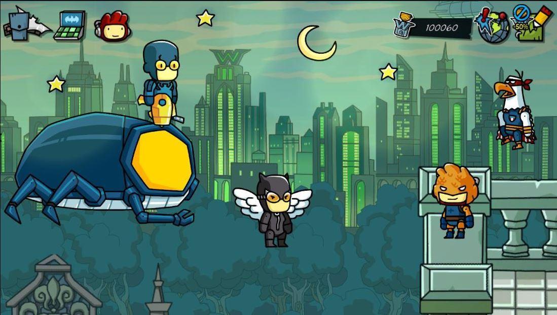 Scribblenauts Unmasked: A DC Comics Adventure (Multi