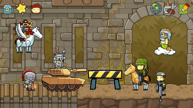 <em>Scribblenauts Unlimited</em> Review (Wii U)