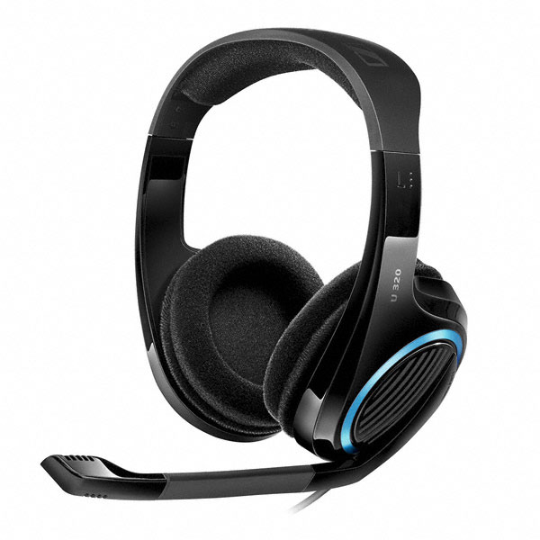 Gaming Technology Review: Sennheiser U320 and PC363D Headsets