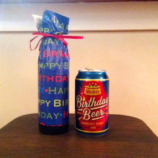 Shiner Birthday Beer Review