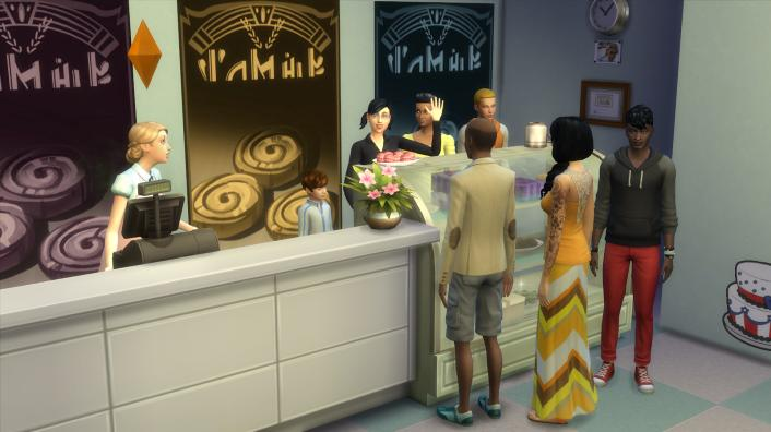The Sims 4 Get to Work: Half-Baked - Paste