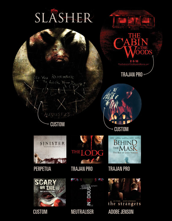 type on screen use movie poster design to pick a flick on