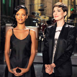 "<i>Saturday Night Live</i> Review: ""Anne Hathaway/Rihanna"" (Episode 38.07)"