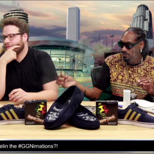 Watch Seth Rogen and Snoop Dogg Get High and Recap <i>Game of Thrones</i>