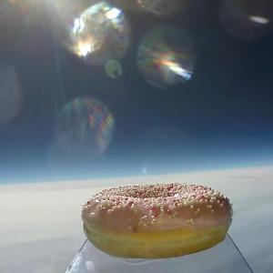 Watch a Video of the First Doughnut in Space
