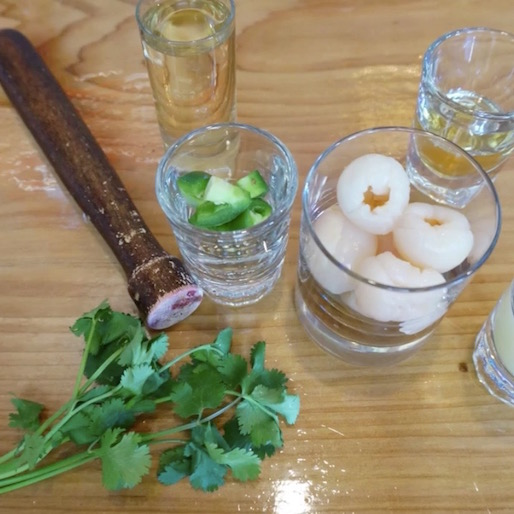 How to Make a Spicy Lychee Gimlet: A Video Tutorial