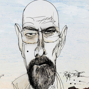 Ralph Steadman <i>Breaking Bad</i> Blu-ray Covers are Just as Cool as You Expected