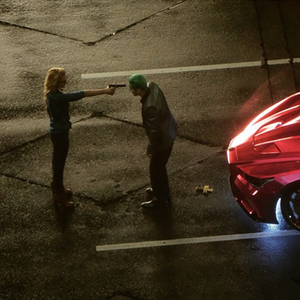 The Joker Argues with Harley Quinn in Set Videos for <i>Suicide Squad</i>