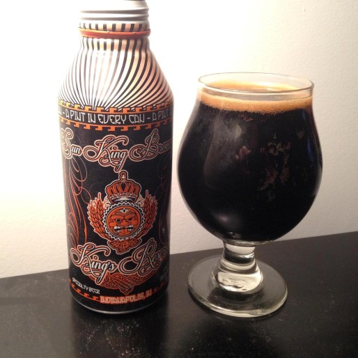 Sun King Bourbon Barrel Timmie Imperial Stout Review