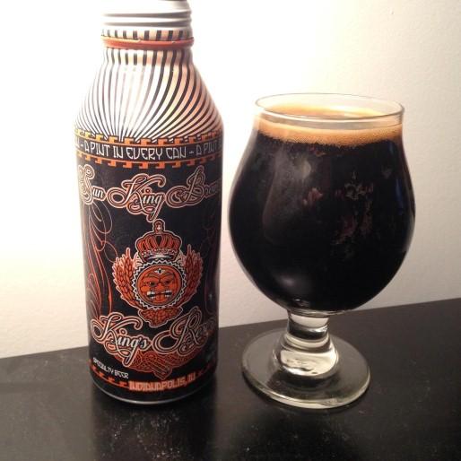 Sun King Bourbon Barrel Timmie Imperial Stout Review