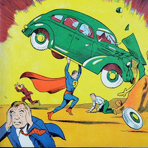 Read the First Superman Comic Online for Free