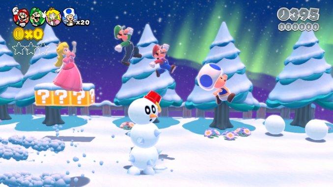 <em>Super Mario 3D World</em> Review (Wii U)