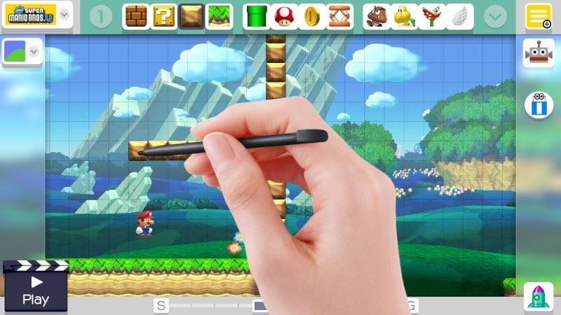 super mario level editor game