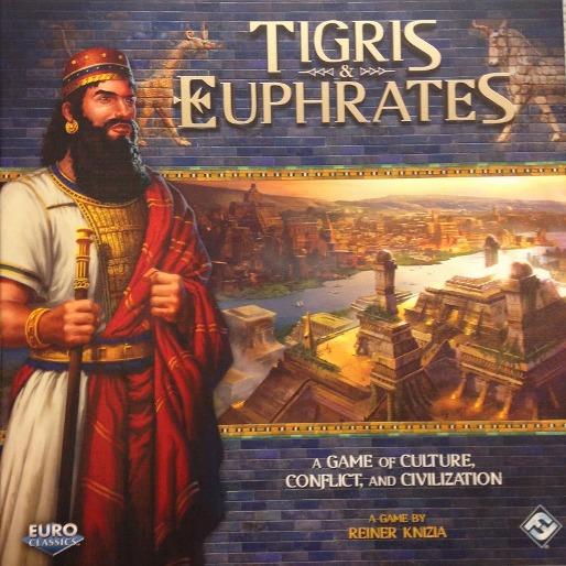 <em>Tigris and Euphrates</em> Boardgame Review