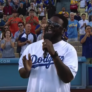Watch: T-Pain Crushes the National Anthem Sans Auto-Tune