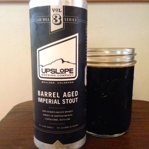 Upslope Barrel Aged Imperial Stout Review